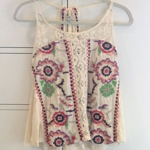 Hippie Flowy Tank top